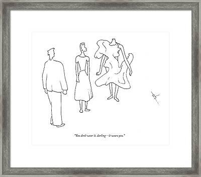 Untitled Framed Print by Erik Hilgerdt