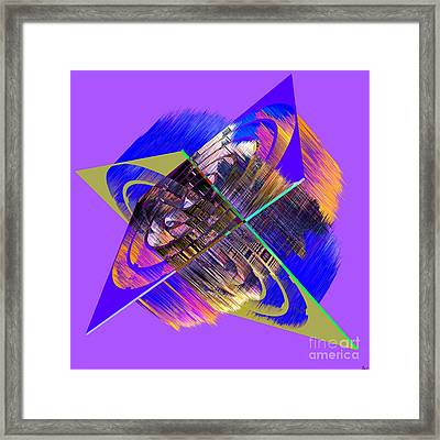 1422 Abstract Thought Framed Print by Chowdary V Arikatla
