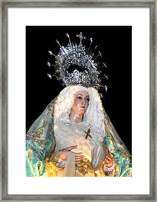 143 Semana Santa In Olvera Framed Print by Patrick King