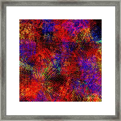 1432 Abstract Thought Framed Print by Chowdary V Arikatla