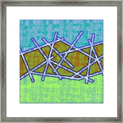 1455 Abstract Thought Framed Print by Chowdary V Arikatla