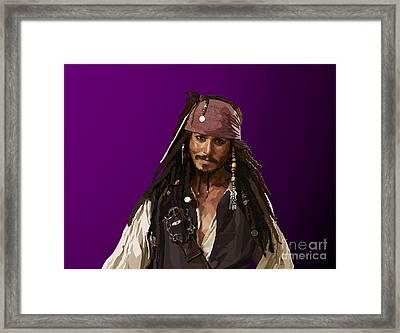 148 - The Legend Framed Print by Tam