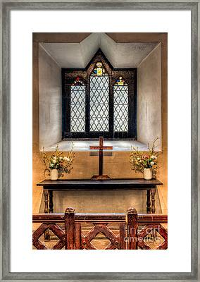 14th Century Chapel Framed Print by Adrian Evans