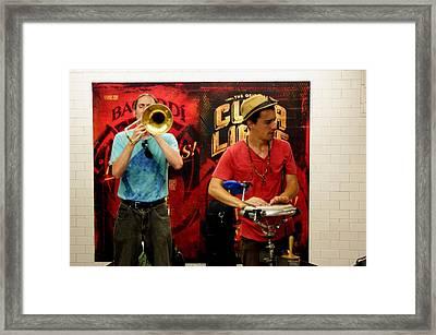 14th St Station Framed Print by Steve Breslow