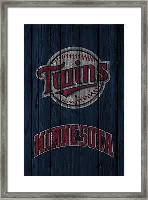 Minnesota Twins Framed Print by Joe Hamilton