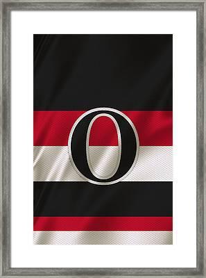 Ottawa Senators Framed Print by Joe Hamilton