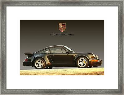 Porsche 911 3.2 Carrera 964 Turbo Framed Print by Ganesh Krishnan