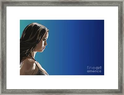 151 - Summer Gl Framed Print by Tam Hazlewood