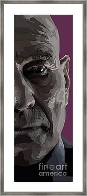 151. Xavier Framed Print by Tam Hazlewood