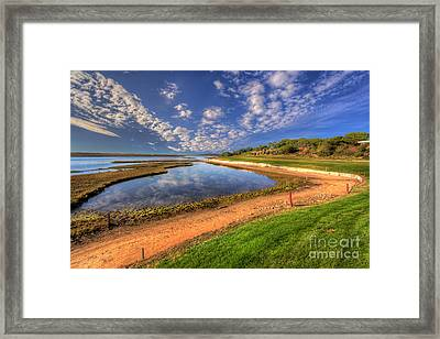 15th Fairway Framed Print by English Landscapes