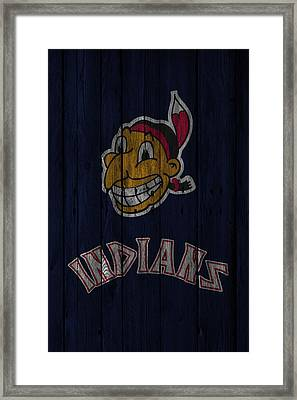 Cleveland Indians Framed Print by Joe Hamilton
