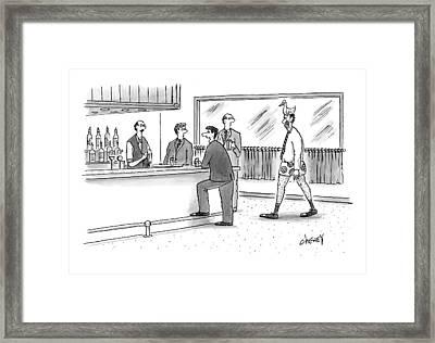 Untitled Framed Print by Tom Cheney