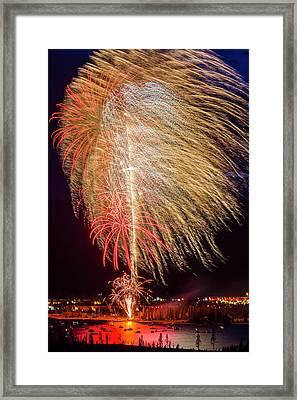 Usa, Colorado, Frisco, Dillon Reservoir Framed Print by Jaynes Gallery
