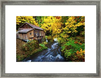 1600 Framed Print by Darren  White
