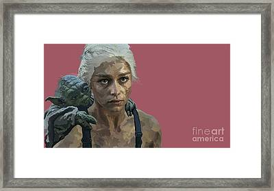 164. The Last Of The Dragons You Will Be Framed Print by Tam Hazlewood