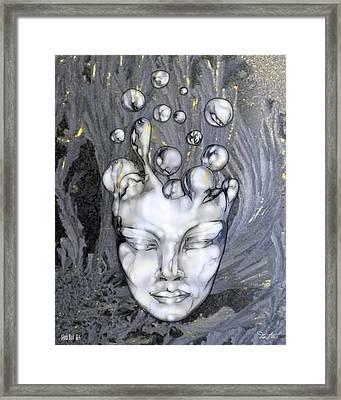 16x20 Slow Boil 014 Framed Print by Dia T