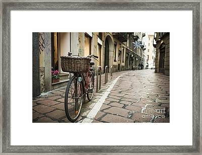Bicycle Framed Print by Mats Silvan