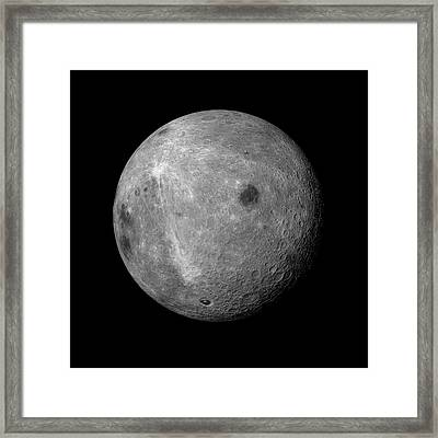 Far Side Of The Moon Framed Print by Detlev Van Ravenswaay