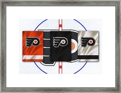 Philadelphia Flyers Framed Print by Joe Hamilton
