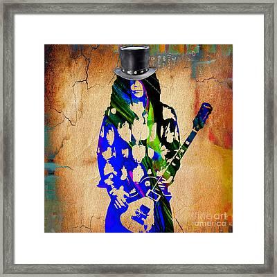 Slash Collection Framed Print by Marvin Blaine