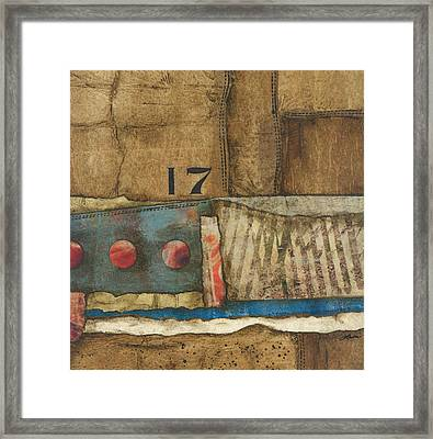 17 Straights In The River Framed Print by Laura  Lein-Svencner