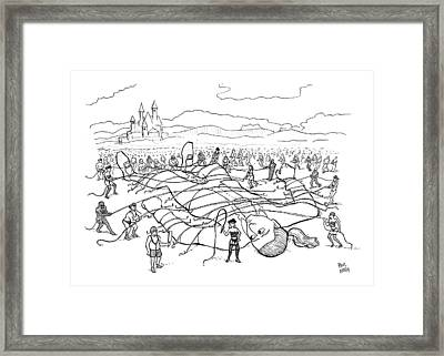 Untitled Framed Print by Paul Noth
