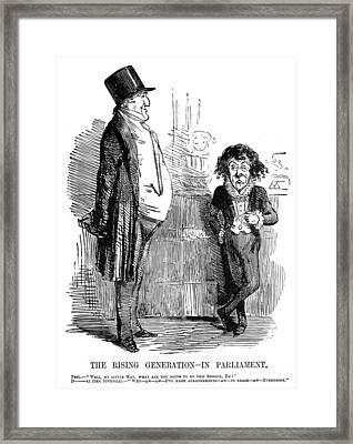 Benjamin Disraeli (1804-1881) Framed Print by Granger