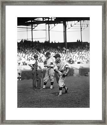Lloyd J. Waner Framed Print by Retro Images Archive
