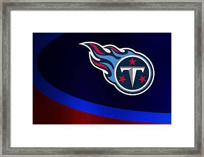 Tennessee Titans Framed Print by Joe Hamilton