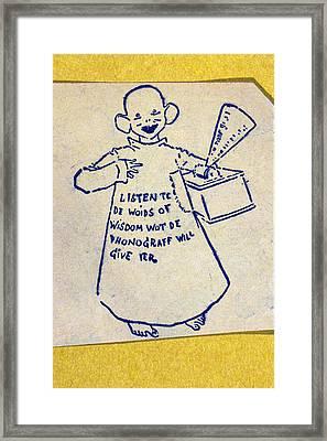 U Framed Print by Granger