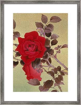 Untitled Framed Print by Haruyo Morita