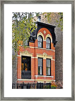1817 N Orleans St Old Town Chicago Framed Print by Christine Till
