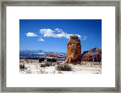 Kodachrome Basin Framed Print by Mark Smith