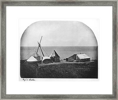 1874 Transit Of Venus, Rodriguez Island Framed Print by Science Photo Library