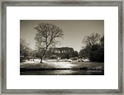 18th Century Winter Framed Print by Anne Gilbert