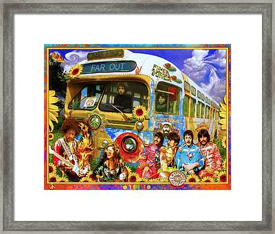 19 Sixty 7 Framed Print by John Anderson
