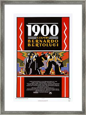 1900, Us Poster, 1976 Framed Print by Everett