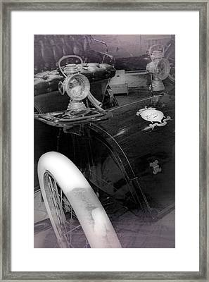 1903 Michigan Runabout Framed Print by Michelle Calkins