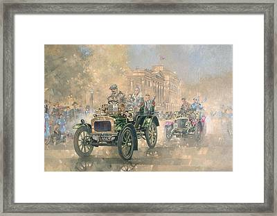 1904 Norfolk  Framed Print by Peter Miller