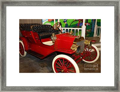 1908 Ford Model T Touring 5d25560 Framed Print by Wingsdomain Art and Photography