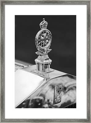 1909 Rolls-royce Silver Ghost 3 Framed Print by Jill Reger