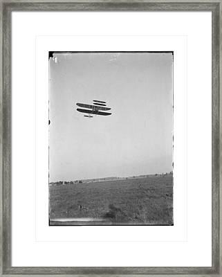 1910 Wright Brothers Flying School Framed Print by MMG Archives