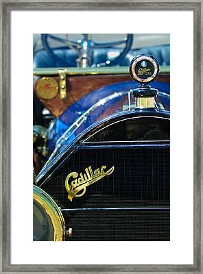 1911 Cadillac Roadster Framed Print by Jill Reger