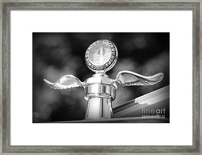 1914 Model T Ford In Black And White Framed Print by Paul Ward