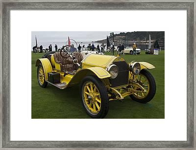 1914 Stutz Series E Bearcat Framed Print by Jill Reger