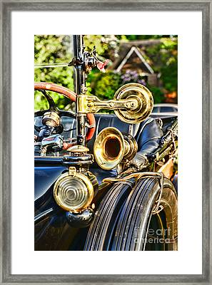 1915 Ford All That Brass Framed Print by Paul Ward