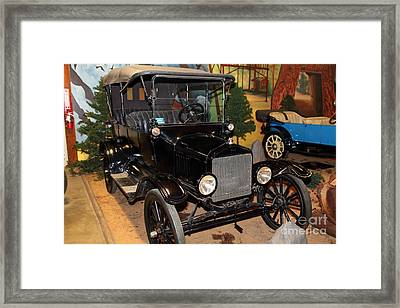 1917 Ford Model T Touring 5d25581 Framed Print by Wingsdomain Art and Photography
