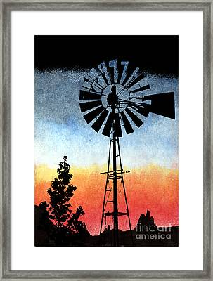 Nostalgia High Tech Framed Print by R Kyllo