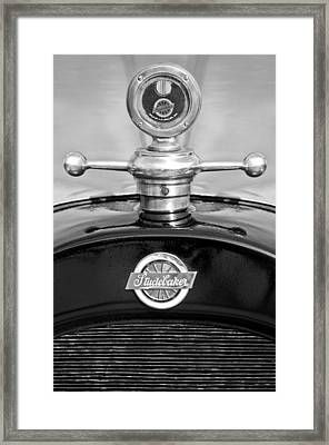 1922 Studebaker Touring Hood Ornament 3 Framed Print by Jill Reger