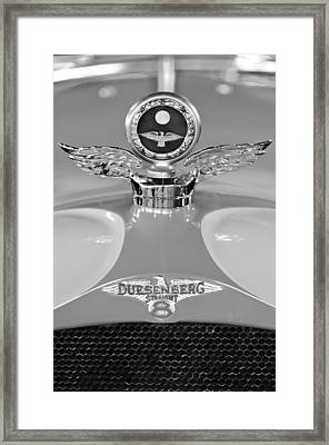 1926 Duesenberg Model A Boyce Motometer 2 Framed Print by Jill Reger